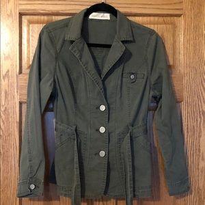 Green jacket w/ belt